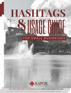 Kapok Marketing Hashtags Usage Guide Preview