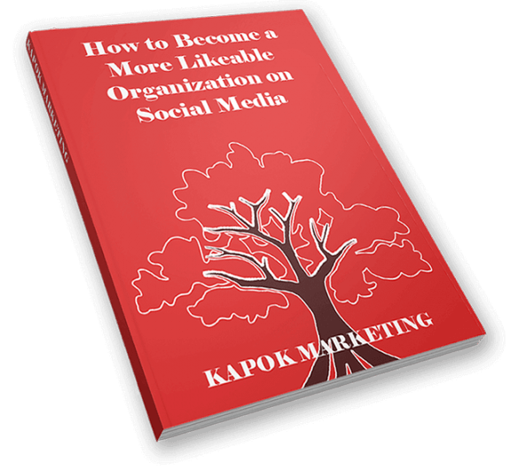 How to Become a More Likeable Organization on Social Media Guide Cover